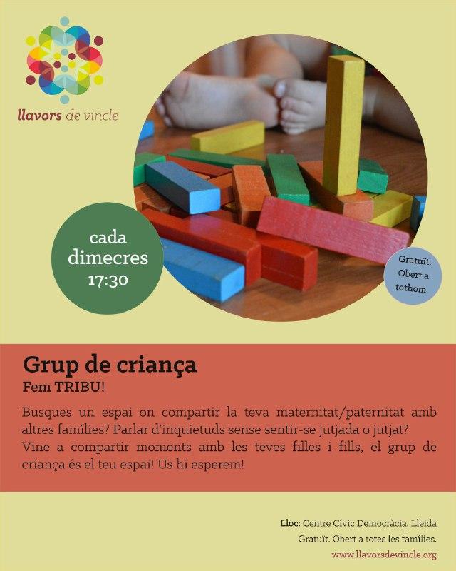 Grup de criança: Fem TRIBU!