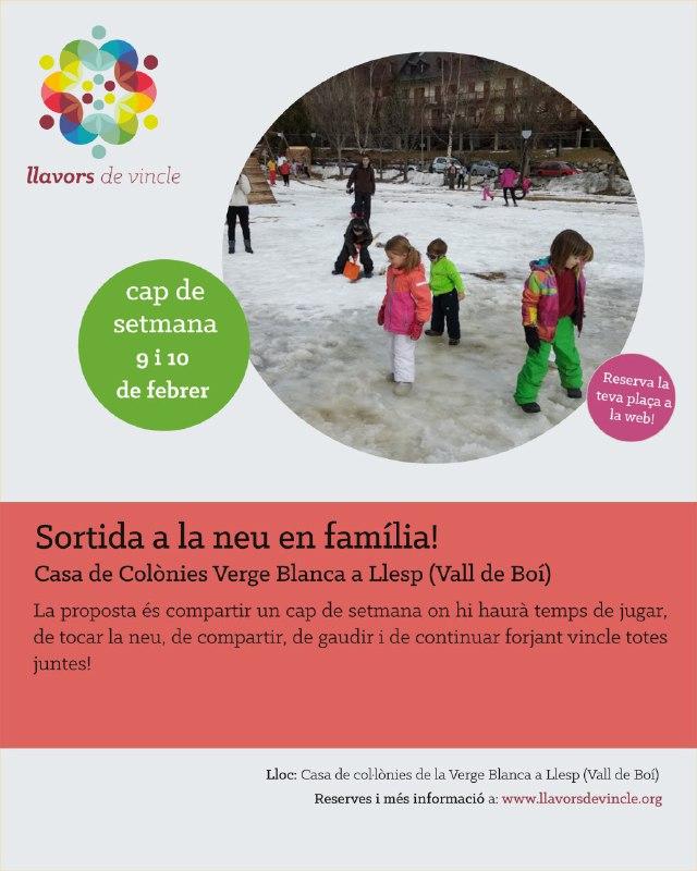 Sortida a la neu en família!