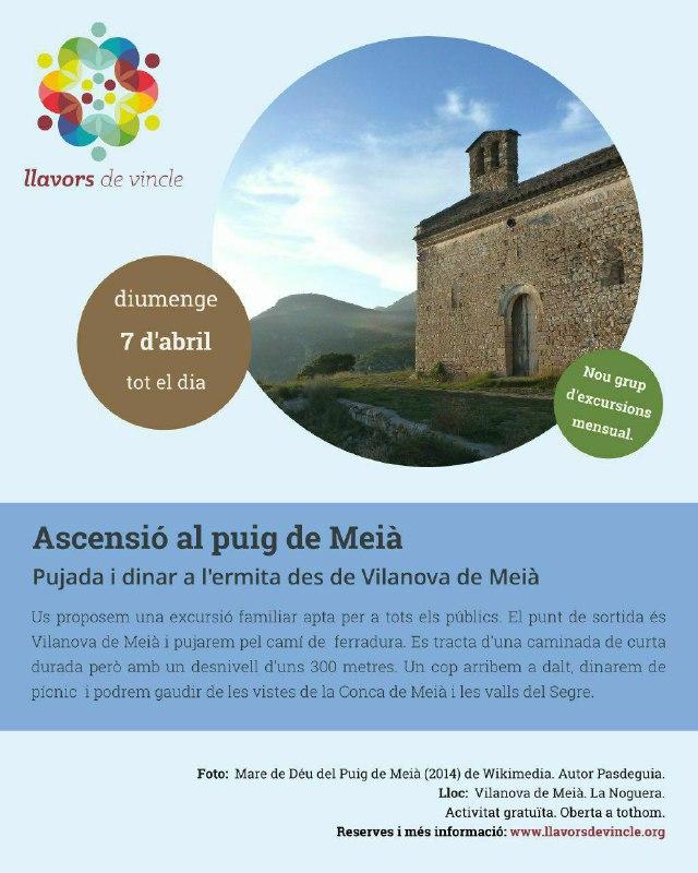 """Excursió: """"Ascensió al puig de Meià"""""""