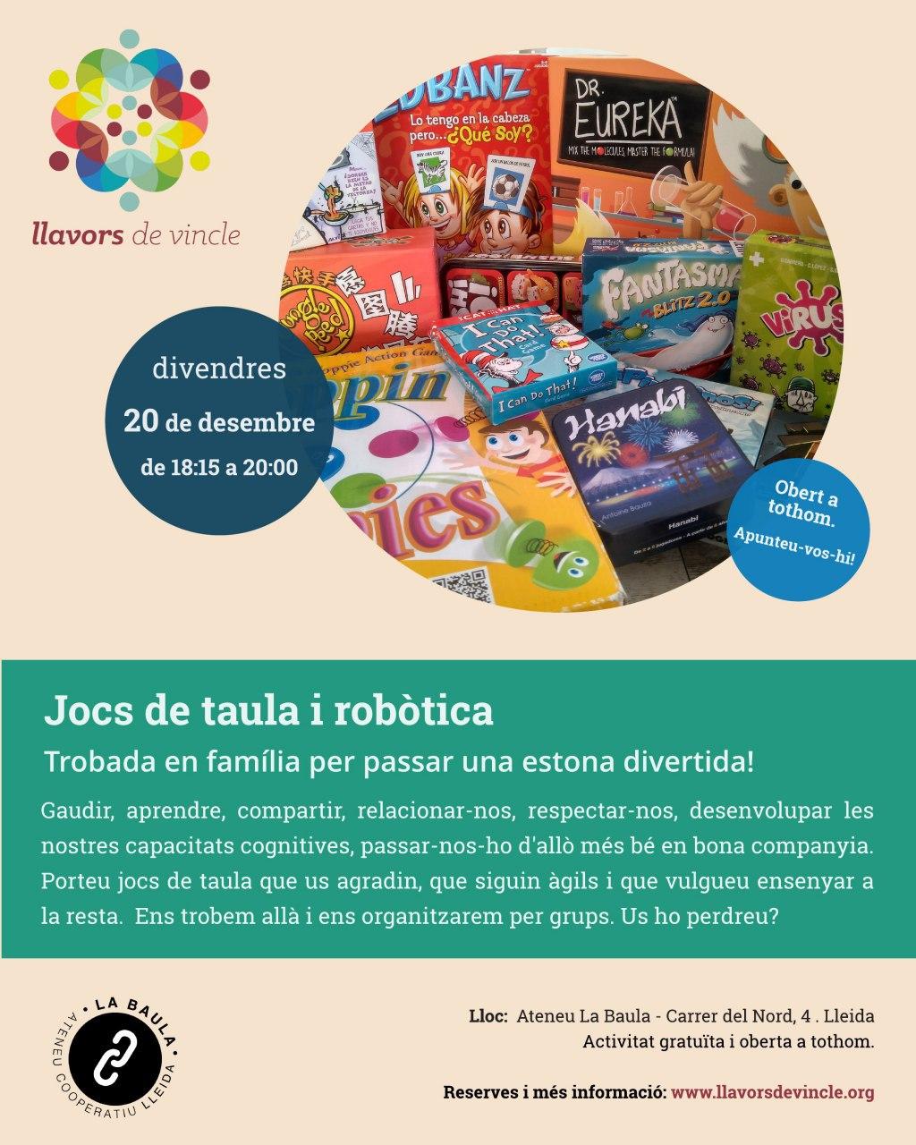 Jocs de taula i robòtica