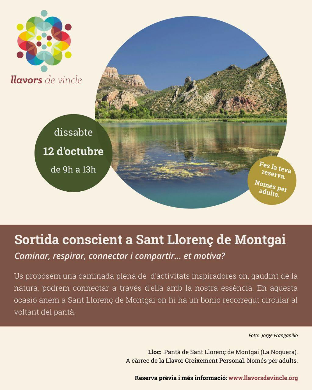 Sortida conscient a Sant Llorenç de Montgai