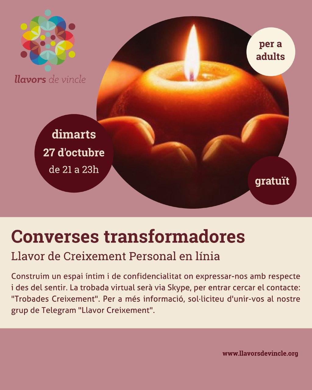 Converses transformadores (Skype)