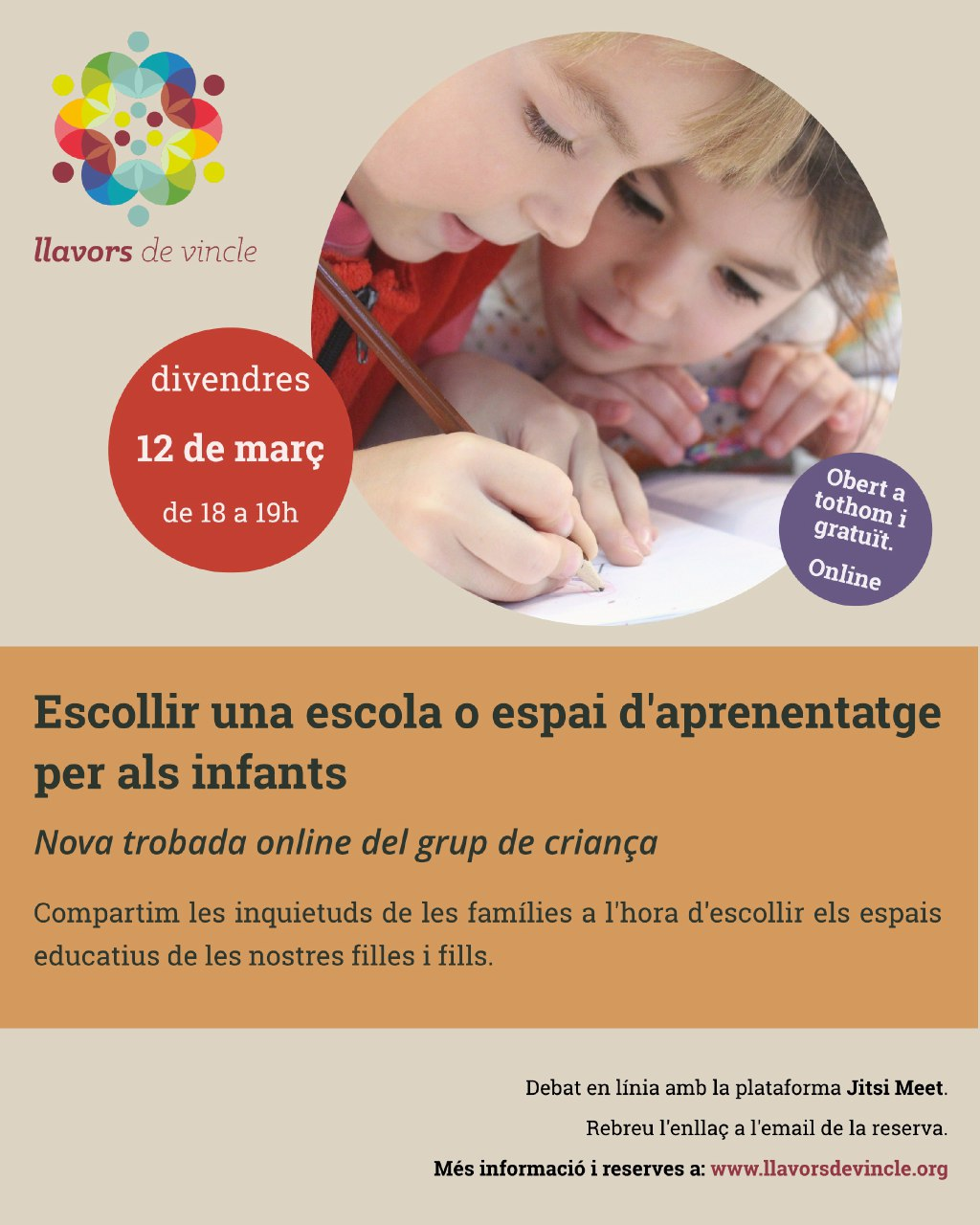 Escollir una escola o espai d'aprenentatge per als infants