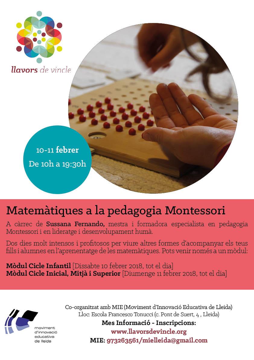 Matemàtiques a la pedagogía Montessori