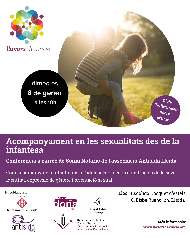 Acompanyament en les sexualitats des de la infantesa